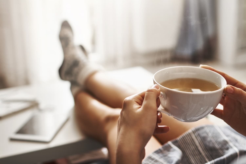 thé sans sucre