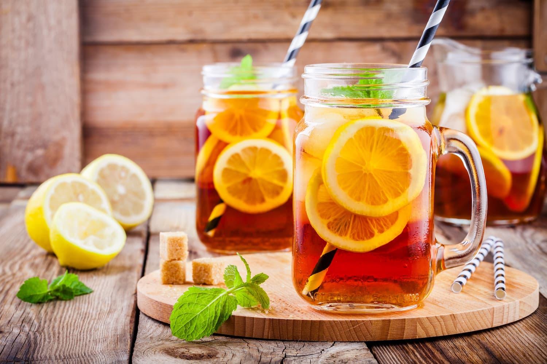 5 thés glacés sains pour l'été